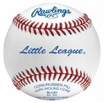 rawlings rllb little league game baseballs - dozen