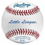 rawlings rllb1  little league game baseballs - dozen