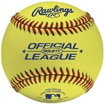 rawlings rolb1y optic yellow leather training baseballs - dozen