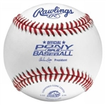 rawlings rplb pony league game baseballs - dozen