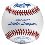 rawlings rsll senior league game baseballs - dozen