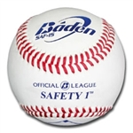 baden safety level 1 youth soft baseballs saf1s dozen