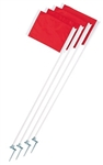 Champion Sports Steel Peg Corner Flags