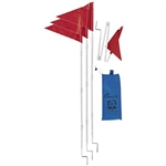 Champion Sports Fold a Flag Corner Flags