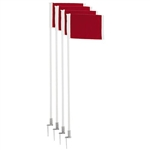 Champion Sports Premium Corner Flags - In Ground