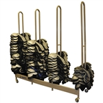 Jaypro Stackmaster Deluxe Shoulder Pad Rack
