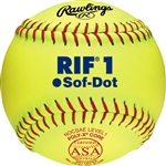 "Rawlings ASA RIF Official 11"" Softballs - SR11RYSA"