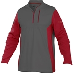Rawlings Adult 1/4 Zip Tech Fleece Baseball Pullover TECHF