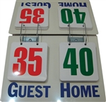Champion Sports Deluxe Tabletop Flip Score Board