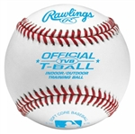 rawlings t-ball indoor and outdoor practice baseballs tvb - dozen