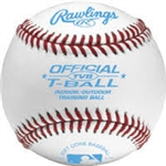 Rawlings TVBBT24 Official Size & Weight Tee Ball Baseballs - Dozen