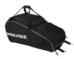 rawlings workhorse wheeled baseball softball catchers bag