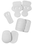 Rawlings 7 Piece Slotted Pad Set (White)