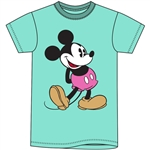 Adult Women's Tee Mickey Head to Toe, Mint Green
