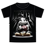 Adult Unisex T-Shirt Spotlight Mickey, Black