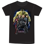Adult Men's T Shirt Marvel Strong, Black (Florida Namedrop)