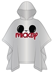 Adult Mickey Family Rain Poncho