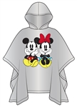 Adult Mickey Minnie Sit Rain Poncho