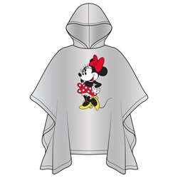 Adult Classic Minnie Standing Poncho (No Namedrop)
