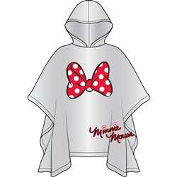 Adult Minnie Bow Rain Poncho