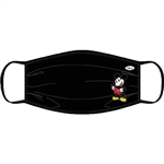 Adult Face Covering Solo Mickey Mouse, Black