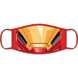 Adult Face Covering Marvel Iron Man
