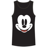 Youth Tank Happy Face Mickey, Black