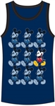 Boys Tank Mickey Mouse Roll, Navy Black