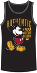 Men's Tank Mickey Mouse Authentic 28, Black