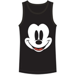 Men's Tank Happy Face Mickey, Black