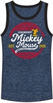 Men's Tank Mickey Mouse Legendary Mouse, Navy Black