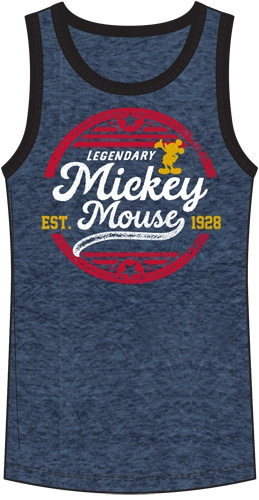 353470541ef09 Men s Tank Mickey Mouse Legendary Mouse