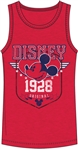 Men's Tank Mickey Mouse Vintage Star, Red