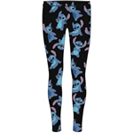 Junior Loving Stitch Leggings, Blue