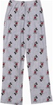 Womens Pant Kickback Mickey, Grey Heather