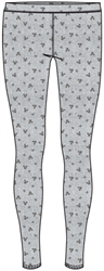 Junior Mickey Dots Leggings, Gray