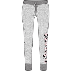 Junior Athleisure Pant Minnie Expressions, Gray Pink