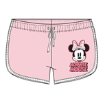 Junior Short Hello Minnie Mouse, Pink White
