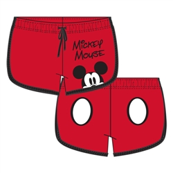Junior Mickey Peeking Short, Red