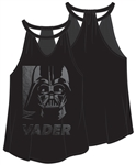 Junior Into the Dark Darth Vader Halter Tank, Black