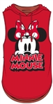 Junior Big Eyes Minnie Hooded Tank, Red