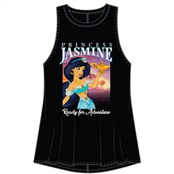 Junior Fashion Tank Ready for Adventure Jasmine, Black