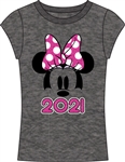 Junior 2021 Minnie Show Fashion Top, Gray