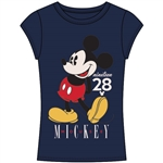 Junior Fashion Top Mickey Mouse 28, Navy