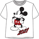 Junior Crop Top 2021 Mickey Life, White