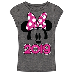 Junior Fashion Top 2019 Minnie Show, Gray (No Namedrop)