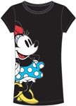 Junior Fashion T-Shirt Minnienomics, Black