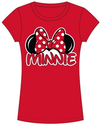 Junior Minnie Family Tee, Red