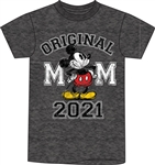 Plus 2021 Original Mickey Tee Shirt, Black Heather