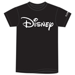 Plus Unisex T Shirt Disney Logo, Black (Florida Namedrop)